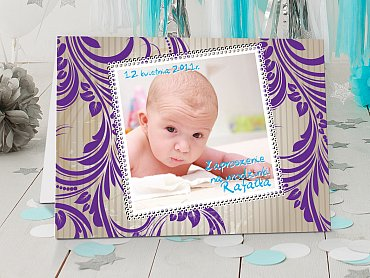 Zaproszenia urodzinowe dla dzieci Model r18