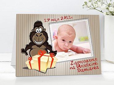 Zaproszenia urodzinowe dla dzieci Model r19