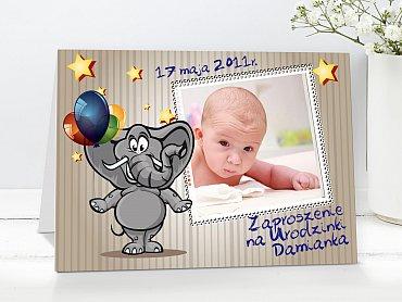 Zaproszenia urodzinowe dla dzieci Model r20