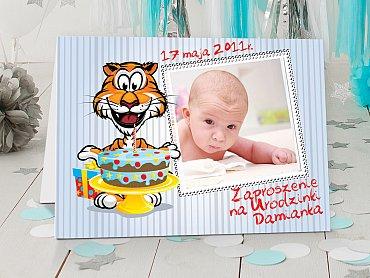 Zaproszenia urodzinowe dla dzieci Model r21