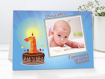 Zaproszenia urodzinowe dla dzieci Model r26
