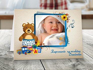Zaproszenia urodzinowe dla dzieci Model r3