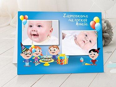 Zaproszenia urodzinowe dla dzieci Model r37