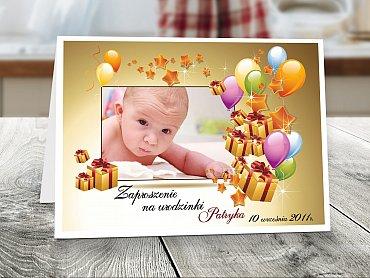 Zaproszenia urodzinowe dla dzieci Model r6