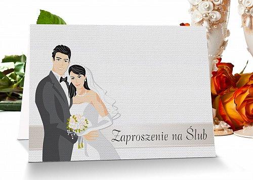 Zaproszenia ślubne model 9