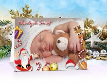 Kartki świąteczne opis - model 6