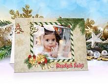 FotoKartki Świąteczne z własnym zdjęciem - model 18