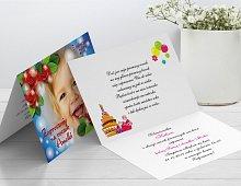 Zaproszenia urodzinowe dla dzieci Model r2
